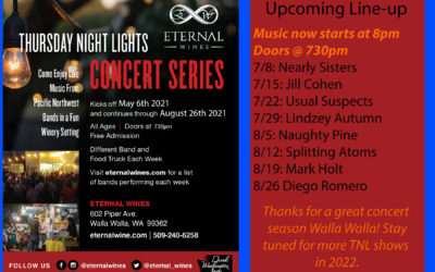 More great events, scores and Thursday Night Lights and sold out wines